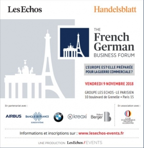The French German Business Forum 2018